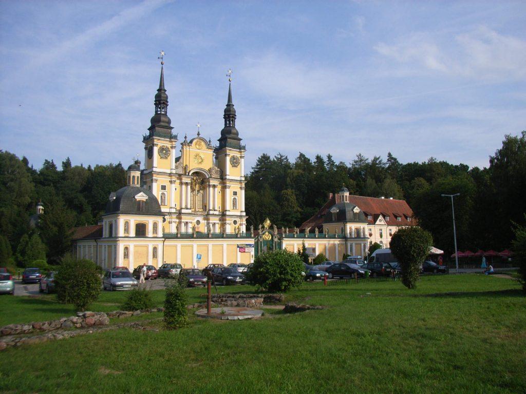 Zu sehen ist die Kirche in Heiligelinde, Bild; Südstädter