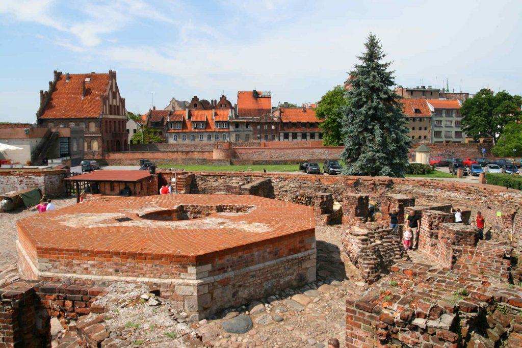 Zu sehen ist die Burgruine in Thorn, Bild: Lestat Jan Mehlich