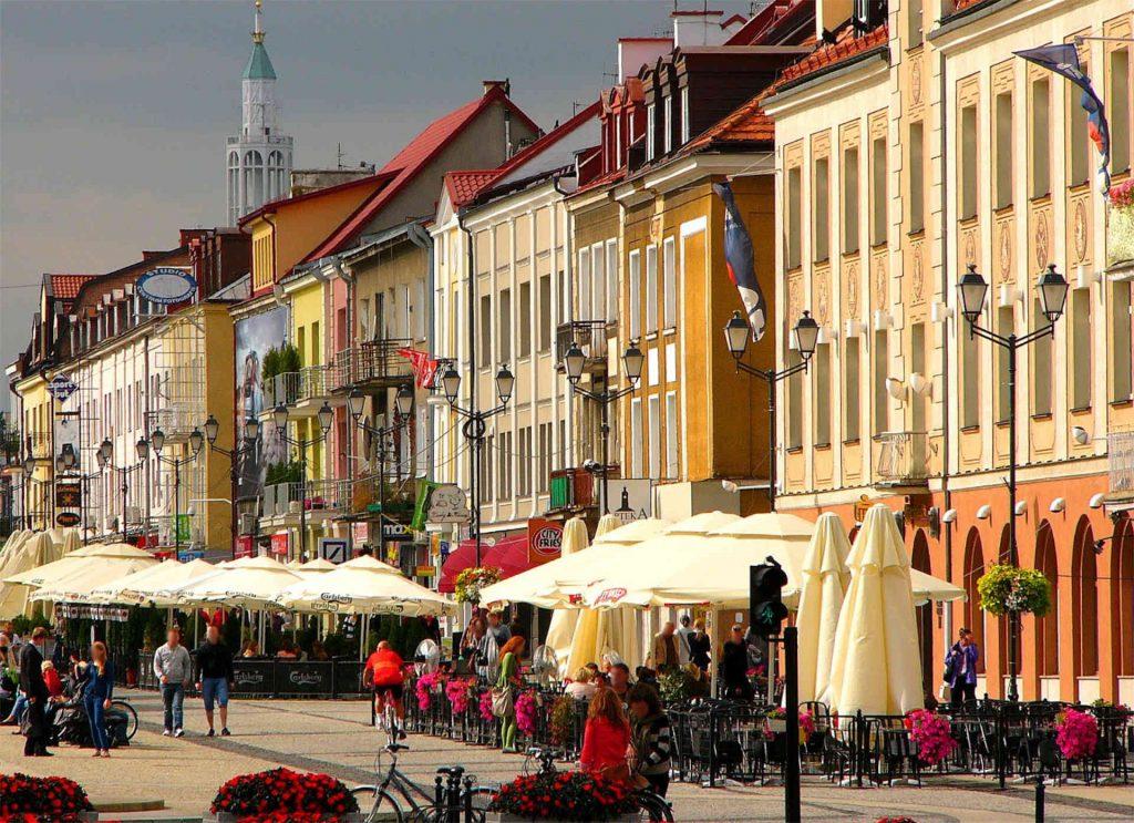 Zu sehen ist die Altstadt von Bjelostock, Bild: Gliwi