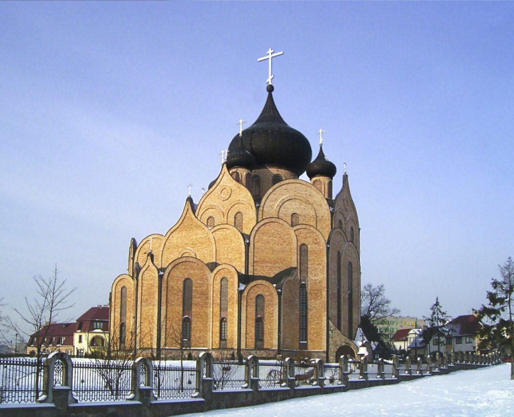 Zu sehen ist eine Orthodoxe Kirche in Bjelostock, Bild: Akir