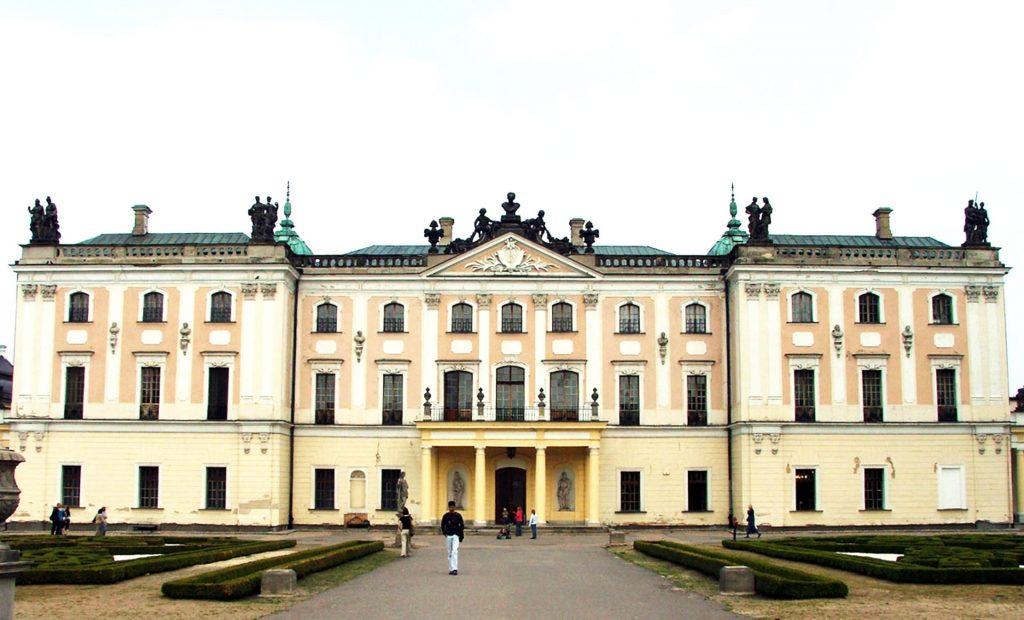 Zu sehen ist der Branicki Palast in Bjelostock, Bild: Imane taken by User Sebastianm