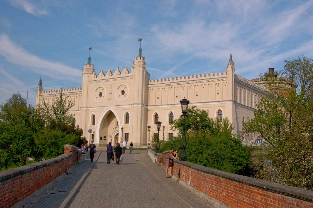 Zu sehen ist die Burg von Lublin, Bild: Wistuladerivative work Szater