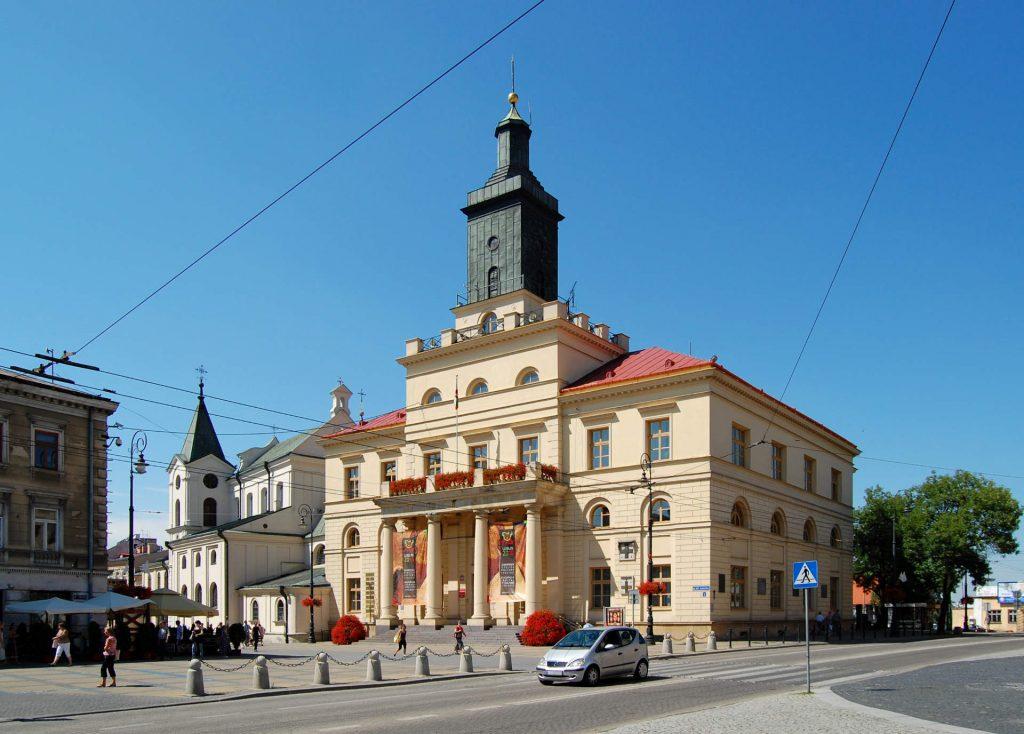 Zu sehen ist das Neue Rathaus von Lublin, Bild: Marcin Białek