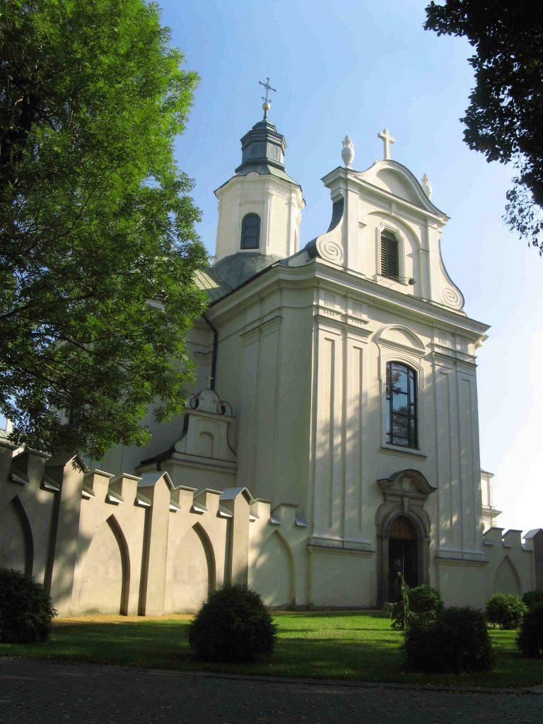 Zu sehen ist die Klosterkirche in Lublin, Bild: Szater