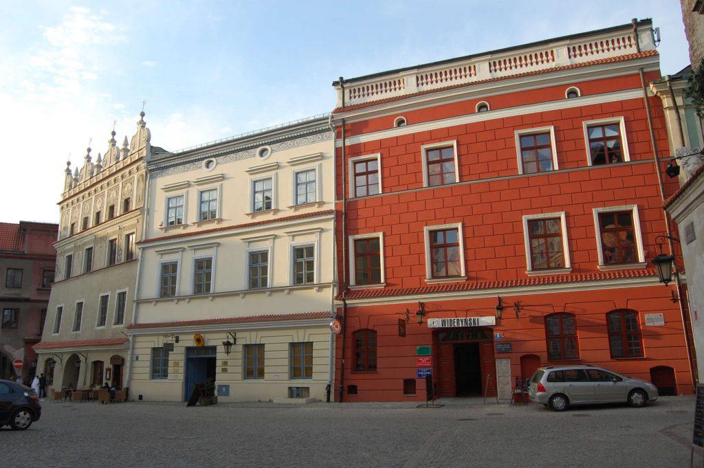 Zu sehen ist die Altstadt von Lublin, Bild: Szater