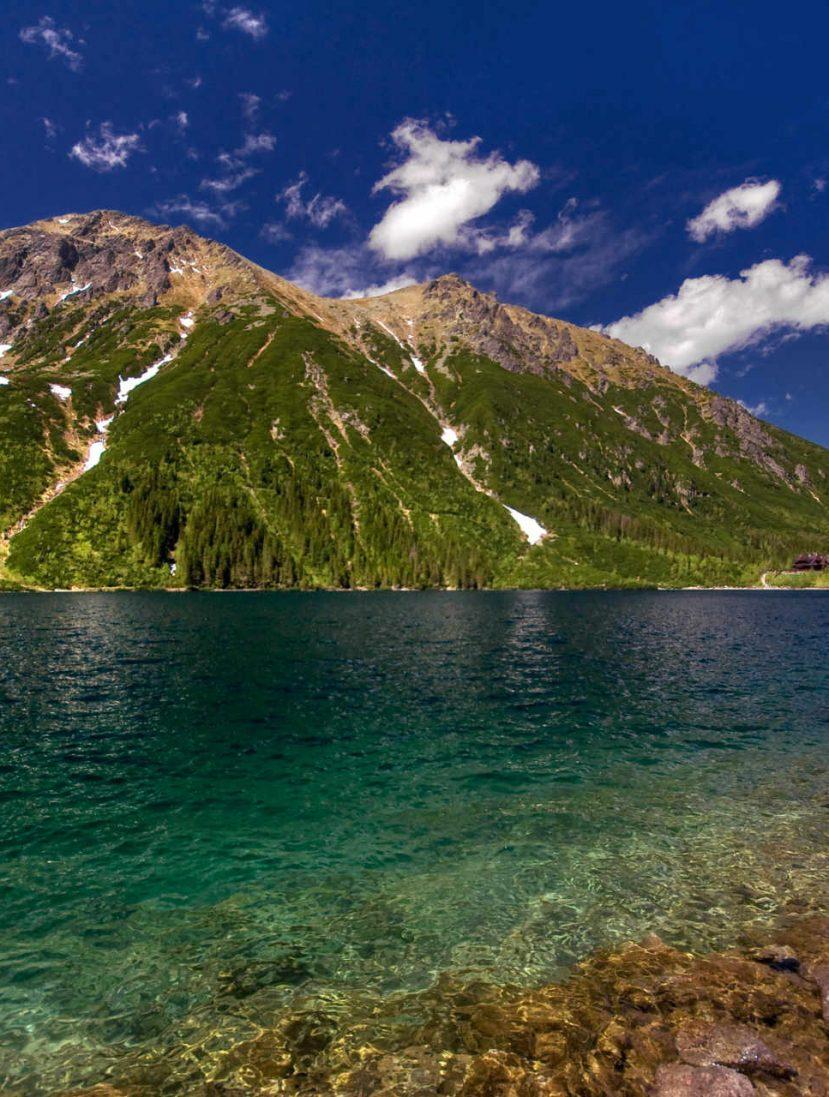 Zu sehen ist das Meerauge in der Hohen Tatra, Bild: Aneta Pawska