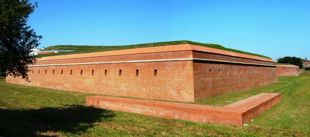 Zu sehen ist die Burg in Zamość, Bild: MaKacommonswiki