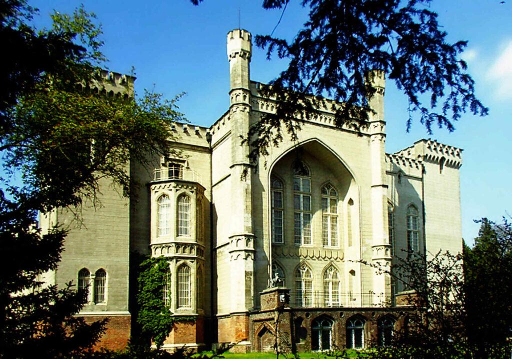 Zu sehen ist das Schloss in Kórnik, Bild: Stanisław Nowak Poznań Poland