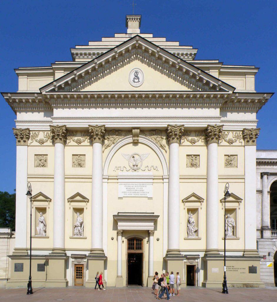 Zu sehen ist die Annakirche in Warschau, Bild: Alina Zienowicz Ala-z