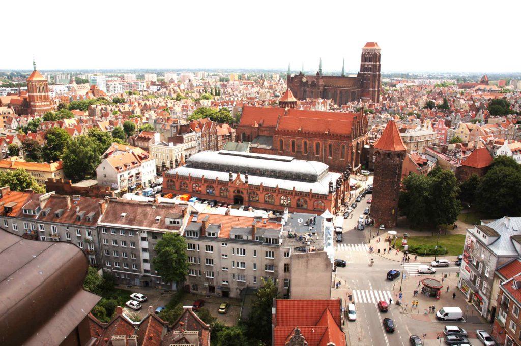 Zu sehen ist ein Blick auf die Altstadt von Danzig, Bild: Barbara Maliszewska