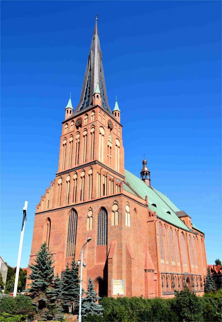 Zu sehen ist die Jakobikirche in Stettin, Bild: Kapitel scaled