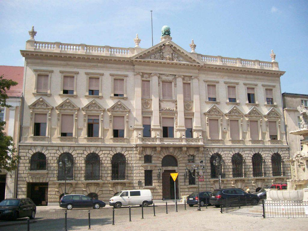 Zu sehen ist das Grumbkow Palais in Stettin, Bild: Szczecinolog