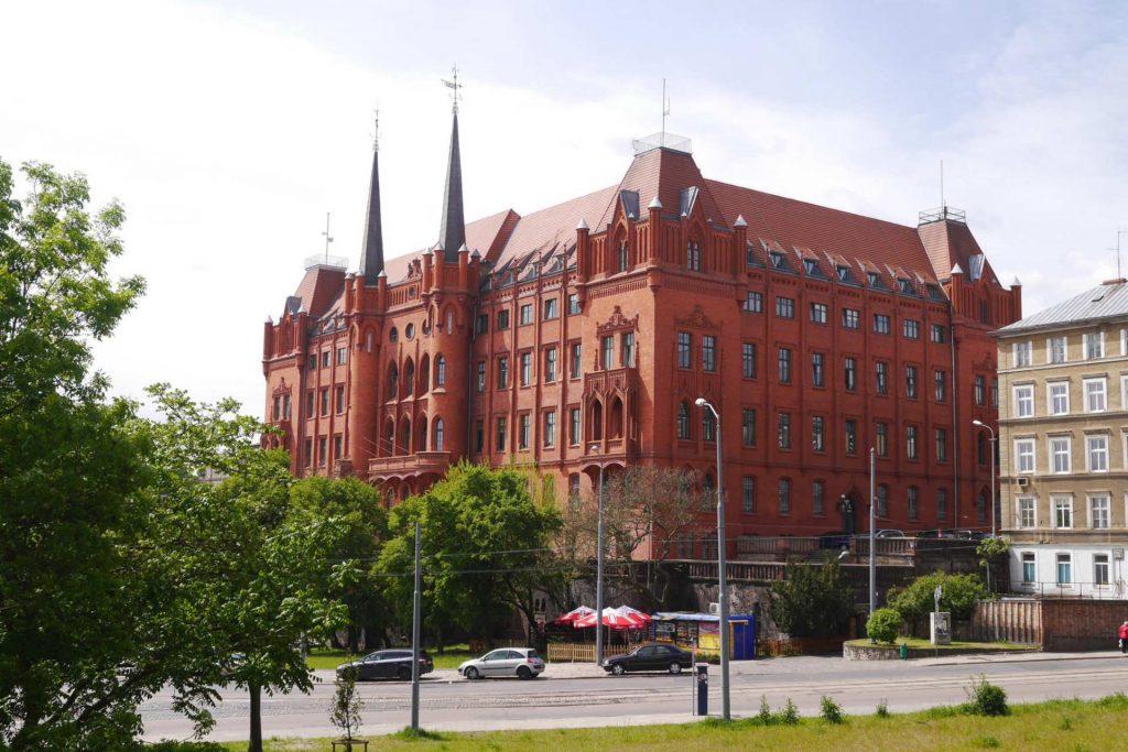 Zu sehen ist das Neue Rathaus von Stettin, Bild: Andreas Vogel