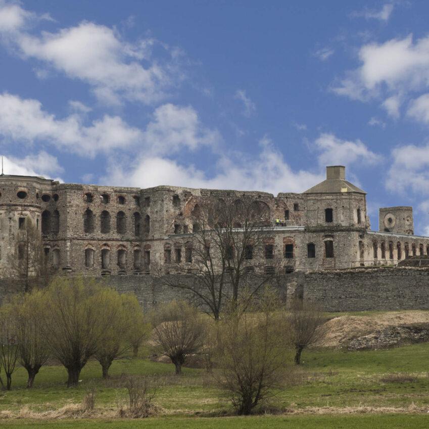 Zu sehen ist die Schlossruine in Krzyżtopór, Bild: Ccchudyyy