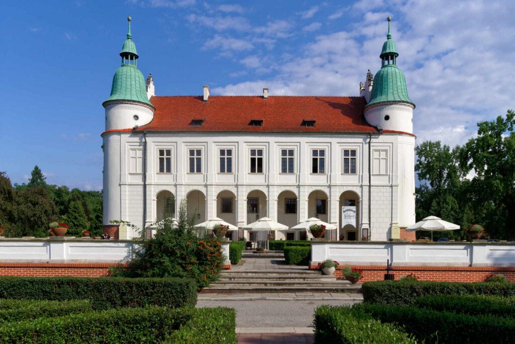 Zu sehen ist der Leszczyński-Palast in Baranów-Sandomirski, Bild: Jakub Hałun