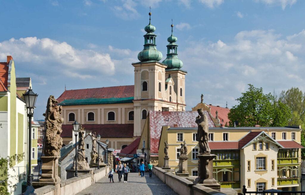 Zu sehen ist die Gothische Brücke in Glatz, Bild: Halicki