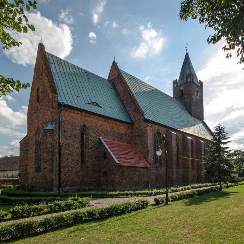 Zu sehen ist die St.-Jakob-Kirche in Mollwitz, Bild: Sławomir Milejski