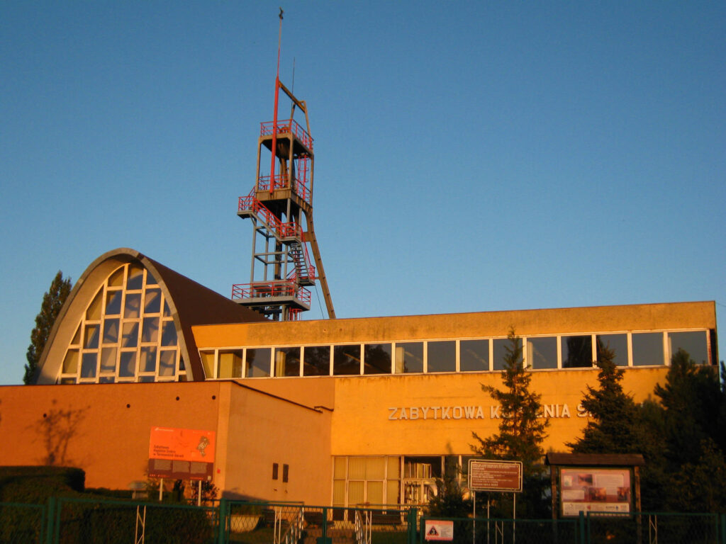 Zu sehen ist das Silberbergwerk in Tarnowitz, Bild: Rybkon