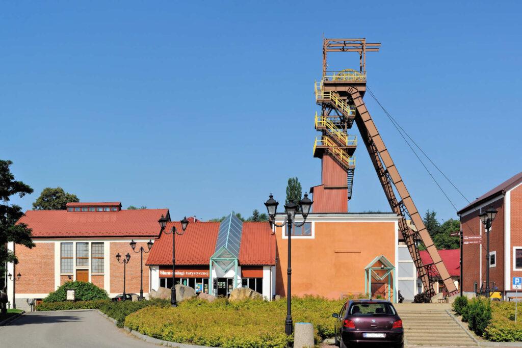 Zu sehen ist der Eingang des Salzbergwerks in Bochnia, Bild: Kroton