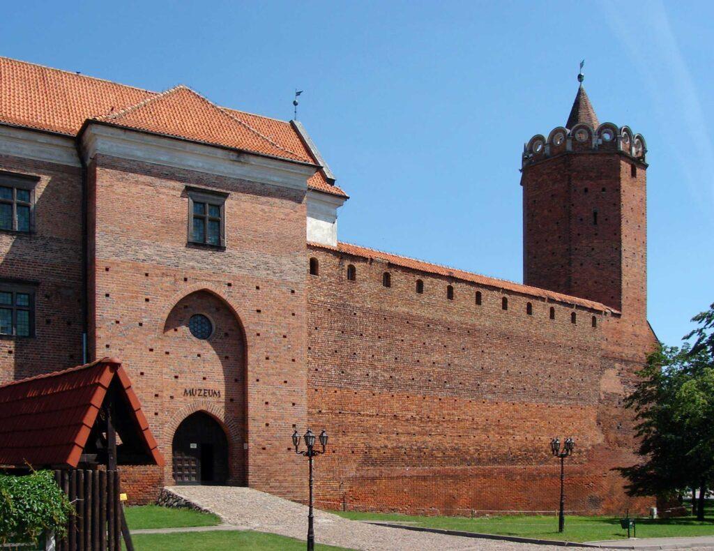 Zu sehen ist das Schloss von Łęczyca, Bild: I, Chrumps.jpg