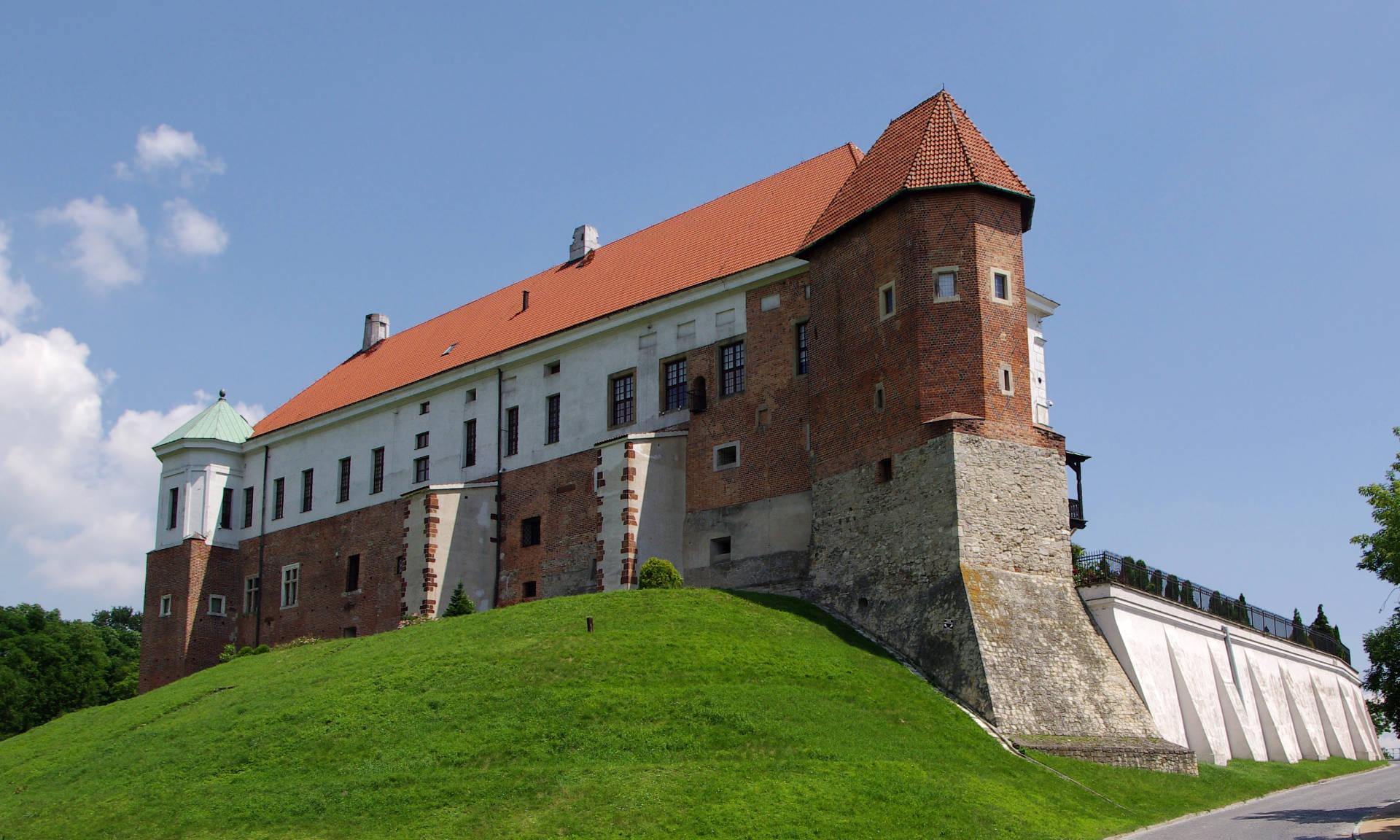 Zu sehen ist das Schloss in Sandomierz, Bild: Jakub Hałun