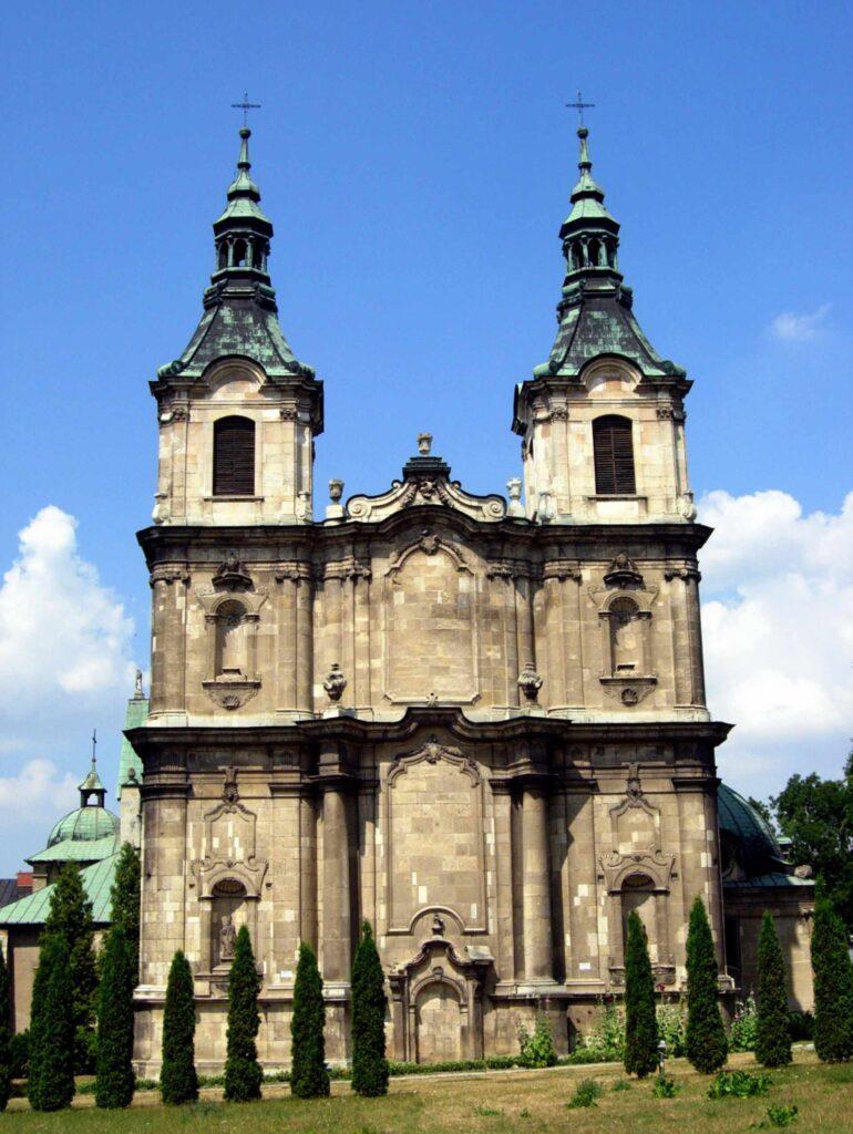 Zu sehen ist das Zisterzienserkloster in Jędrzejów, Bild: Jakub Hałun