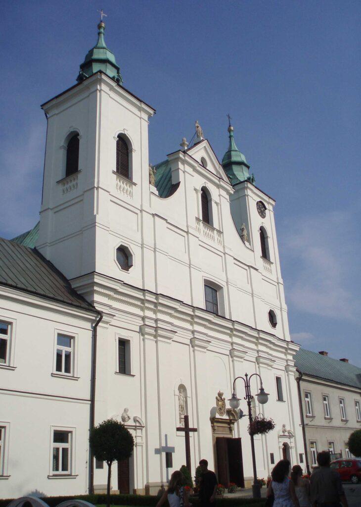 Zu sehen ist die Heilig-Kreuz-Kirche in Rzeszów, Bild: J-k