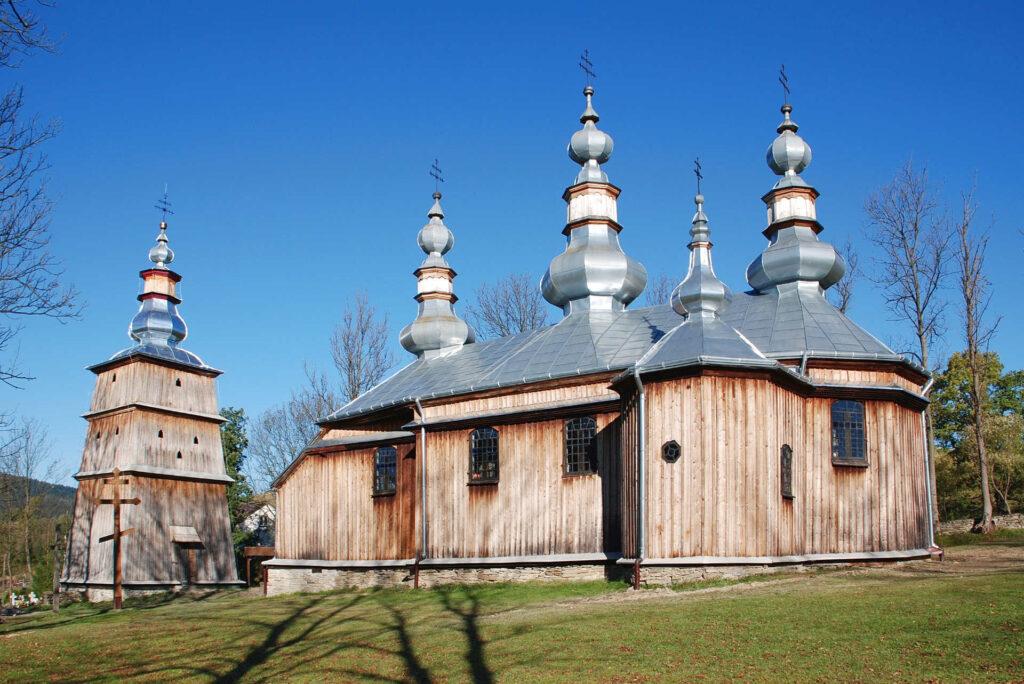 Zu sehen ist eine Holzkirche in Turzańsk, Bild: Henryk Bielamowicz