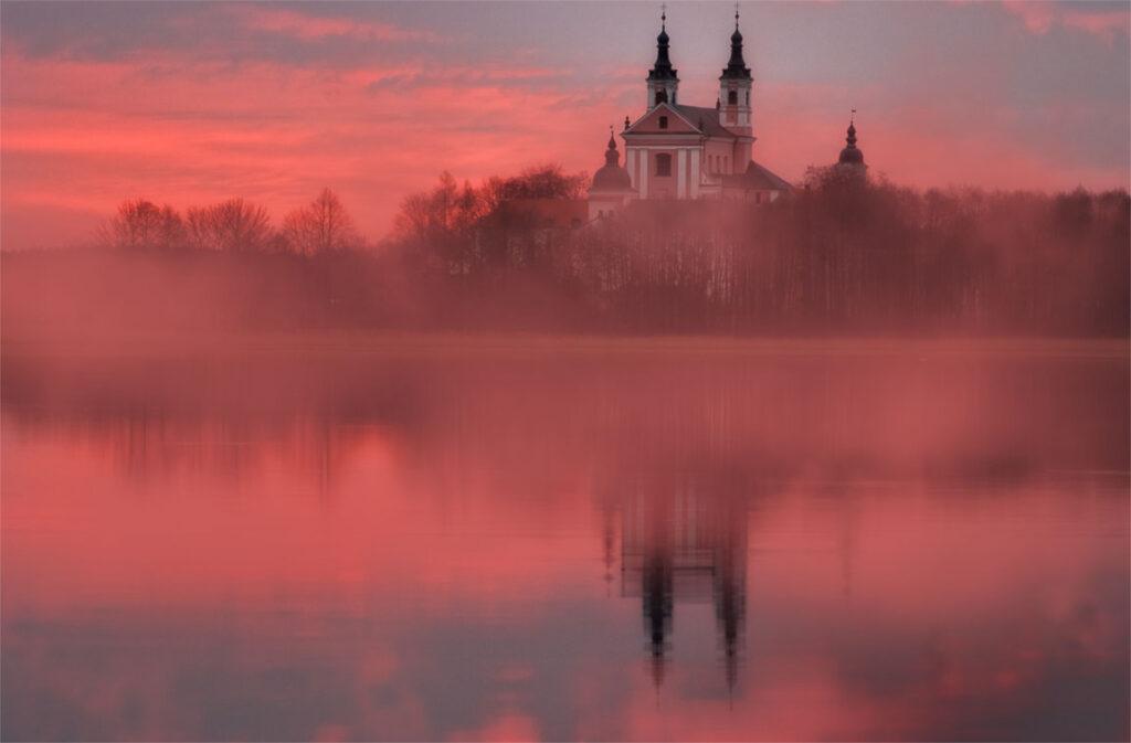 Zu sehen ist das Wigry-Kloster in der Nähe von Suwałki, Bild: Krzysztof Mierzejewski