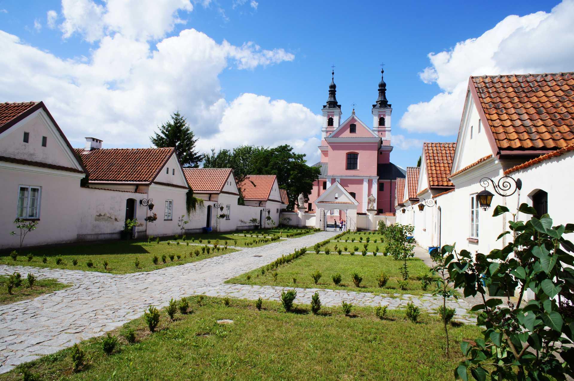 Zu sehen ist das Wigry-Kloster in der Nähe von Suwałki, Bild: Magkrys