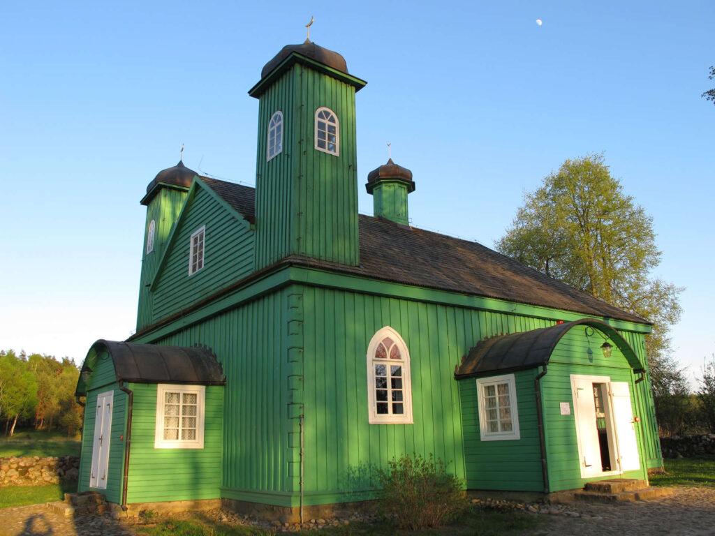 Zu sehen ist die Moschee in Kruszyniany, Bild: Krzysztof Kundzicz