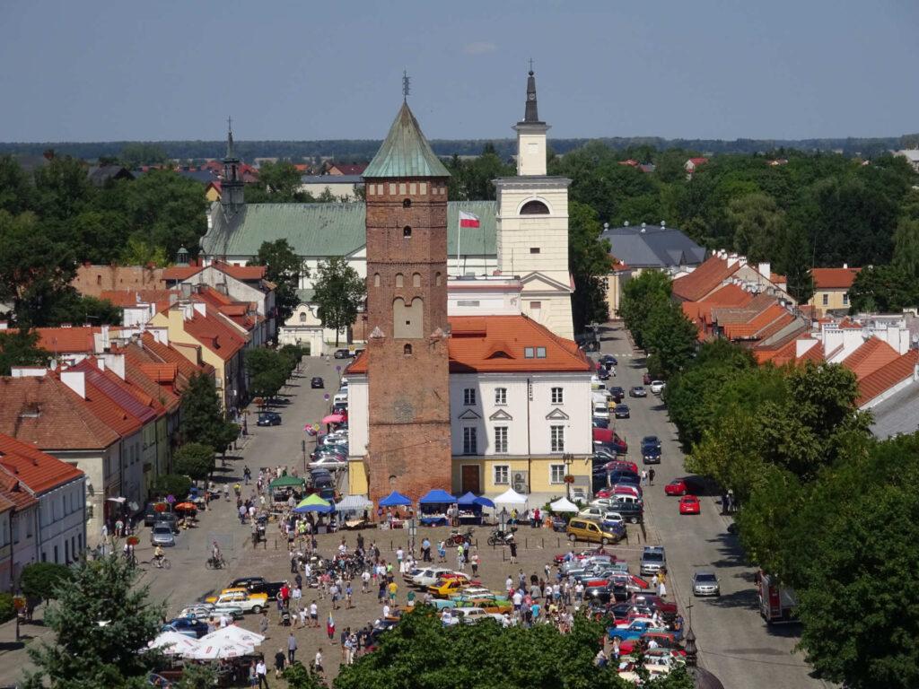 Zu sehen ist der Marktplatz in Pułtusk, Bild: Sylwester Górski