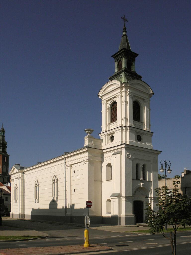 Zu sehen ist die Evangelisch-Augsburgische-Kirche in Radom, Bild: Rafal Terkner
