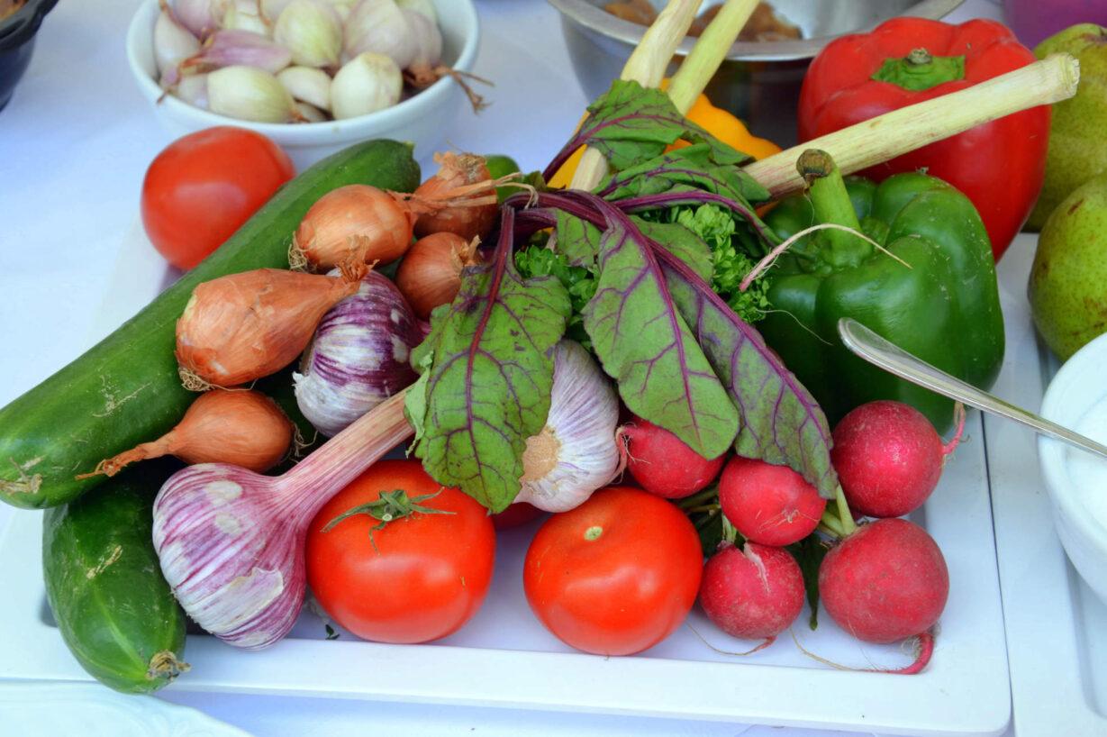 Zu sehen ist frisches Gemüse, Bild: Silar