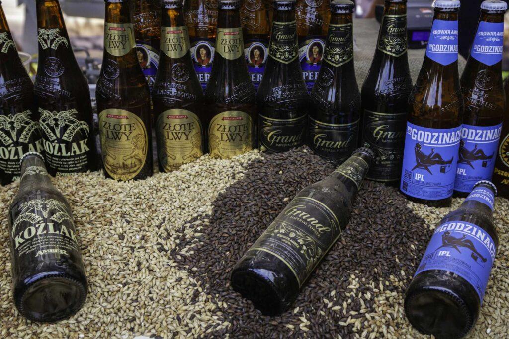 Zu sehen sind regionale Biere, Bild: Polska Organizacja Turystyczna