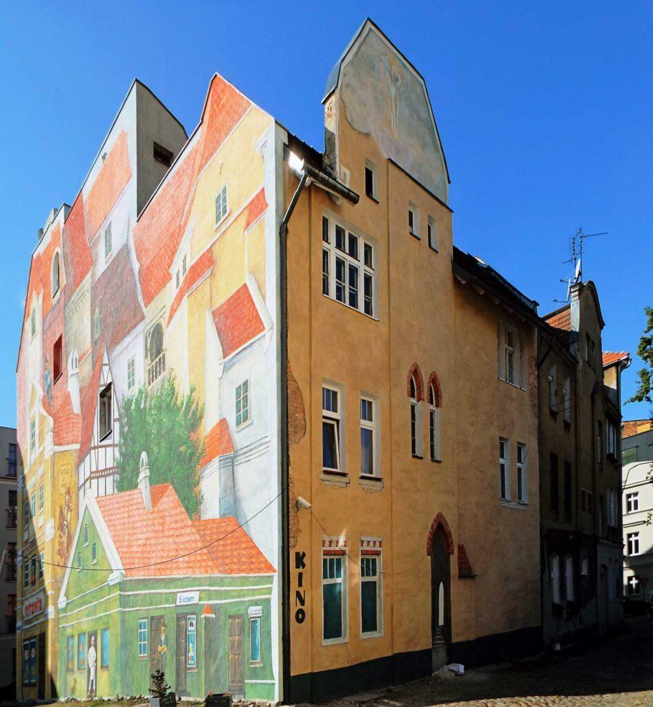 Zu sehen ist ein Haus im Stadtteil Środka von Posen, Bild: pl