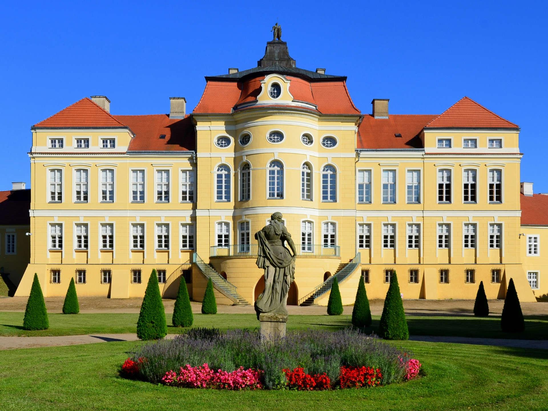 Zu sehen ist das Schloss von Rogalin, Bild: Bartosz MORĄG