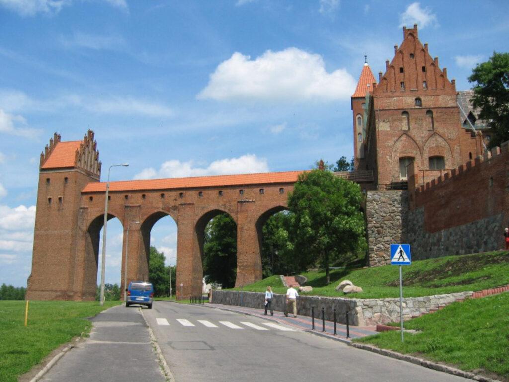 Zu sehen ist der Burgdansker an der Burg Marienwerder, Bild: Piotr_J