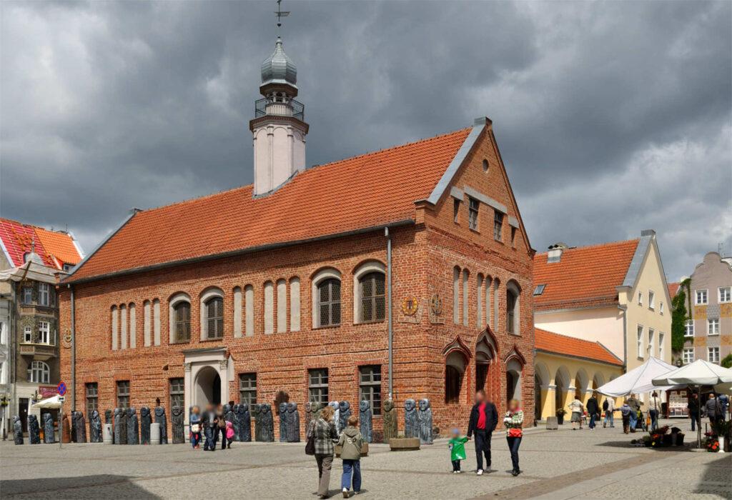Zu sehen ist das Alte Rathaus in Allenstein, Bild: Archetyp